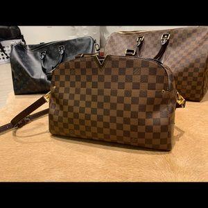 Louis Vuitton Kensington Bowling Bag Damier Ebene